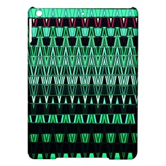 Green Triangle Patterns Ipad Air Hardshell Cases