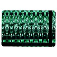 Green Triangle Patterns Ipad Air Flip