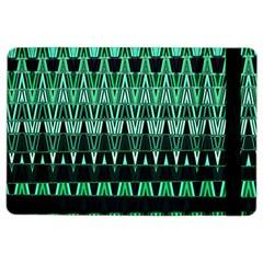 Green Triangle Patterns iPad Air 2 Flip