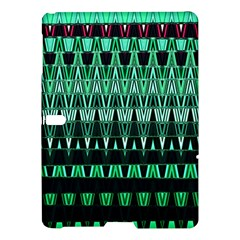 Green Triangle Patterns Samsung Galaxy Tab S (10 5 ) Hardshell Case