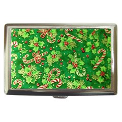 Green Holly Cigarette Money Cases