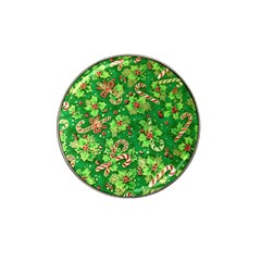 Green Holly Hat Clip Ball Marker
