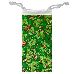 Green Holly Jewelry Bag