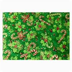 Green Holly Large Glasses Cloth (2-Side)