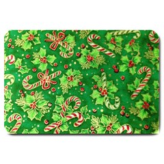 Green Holly Large Doormat