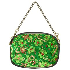 Green Holly Chain Purses (one Side)