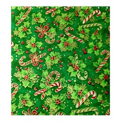 Green Holly Shower Curtain 66  x 72  (Large)