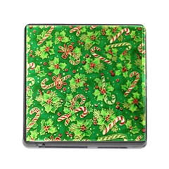 Green Holly Memory Card Reader (square)