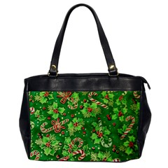 Green Holly Office Handbags