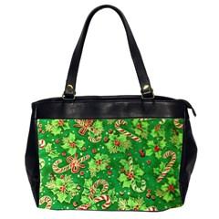 Green Holly Office Handbags (2 Sides)