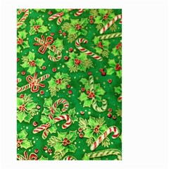 Green Holly Small Garden Flag (Two Sides)