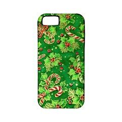 Green Holly Apple iPhone 5 Classic Hardshell Case (PC+Silicone)