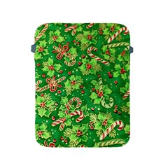 Green Holly Apple Ipad 2/3/4 Protective Soft Cases