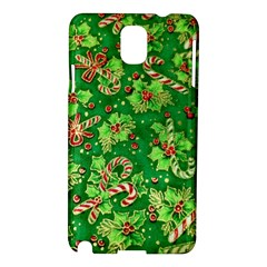 Green Holly Samsung Galaxy Note 3 N9005 Hardshell Case