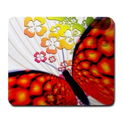 Greeting Card Butterfly Kringel Large Mousepads
