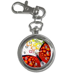 Greeting Card Butterfly Kringel Key Chain Watches