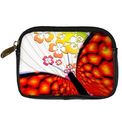 Greeting Card Butterfly Kringel Digital Camera Cases