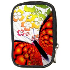 Greeting Card Butterfly Kringel Compact Camera Cases