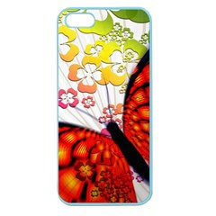 Greeting Card Butterfly Kringel Apple Seamless Iphone 5 Case (color)