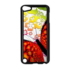 Greeting Card Butterfly Kringel Apple iPod Touch 5 Case (Black)