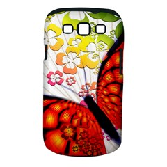 Greeting Card Butterfly Kringel Samsung Galaxy S Iii Classic Hardshell Case (pc+silicone)