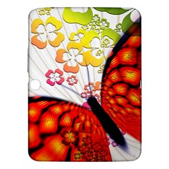 Greeting Card Butterfly Kringel Samsung Galaxy Tab 3 (10.1 ) P5200 Hardshell Case