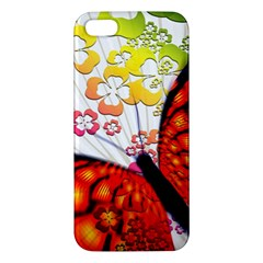 Greeting Card Butterfly Kringel Iphone 5s/ Se Premium Hardshell Case