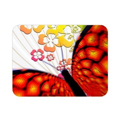 Greeting Card Butterfly Kringel Double Sided Flano Blanket (mini)