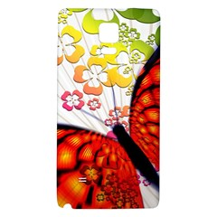Greeting Card Butterfly Kringel Galaxy Note 4 Back Case