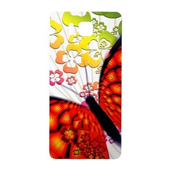 Greeting Card Butterfly Kringel Samsung Galaxy Alpha Hardshell Back Case