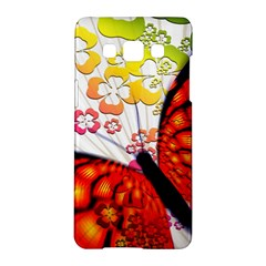 Greeting Card Butterfly Kringel Samsung Galaxy A5 Hardshell Case