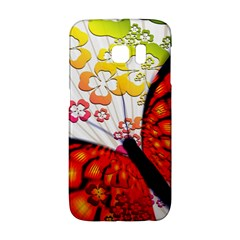 Greeting Card Butterfly Kringel Galaxy S6 Edge