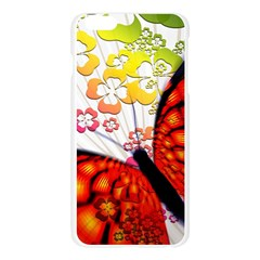 Greeting Card Butterfly Kringel Apple Seamless iPhone 6 Plus/6S Plus Case (Transparent)