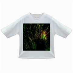 Green Leaves Psychedelic Paint Infant/Toddler T-Shirts