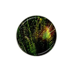Green Leaves Psychedelic Paint Hat Clip Ball Marker (4 pack)