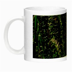 Green Leaves Psychedelic Paint Night Luminous Mugs