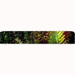Green Leaves Psychedelic Paint Small Bar Mats