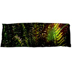 Green Leaves Psychedelic Paint Body Pillow Case Dakimakura (Two Sides)