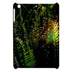 Green Leaves Psychedelic Paint Apple iPad Mini Hardshell Case