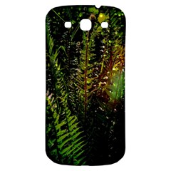 Green Leaves Psychedelic Paint Samsung Galaxy S3 S Iii Classic Hardshell Back Case