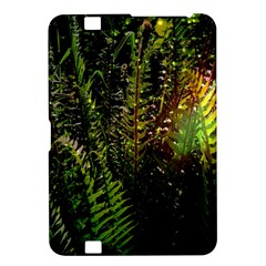 Green Leaves Psychedelic Paint Kindle Fire HD 8.9