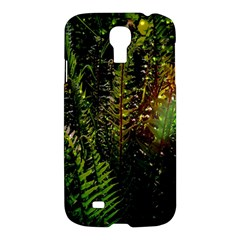 Green Leaves Psychedelic Paint Samsung Galaxy S4 I9500/I9505 Hardshell Case
