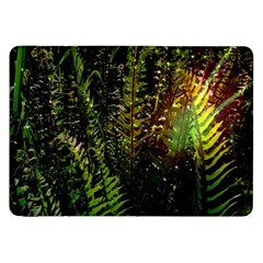 Green Leaves Psychedelic Paint Samsung Galaxy Tab 8 9  P7300 Flip Case