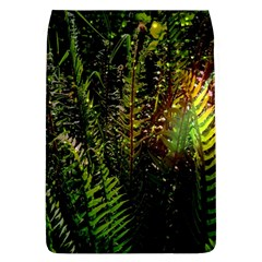 Green Leaves Psychedelic Paint Flap Covers (L)