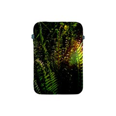 Green Leaves Psychedelic Paint Apple Ipad Mini Protective Soft Cases