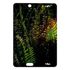 Green Leaves Psychedelic Paint Amazon Kindle Fire Hd (2013) Hardshell Case