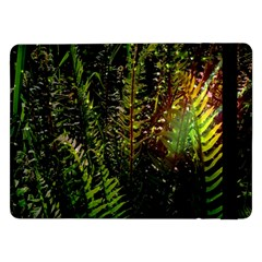 Green Leaves Psychedelic Paint Samsung Galaxy Tab Pro 12 2  Flip Case