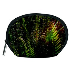 Green Leaves Psychedelic Paint Accessory Pouches (Medium)