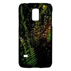 Green Leaves Psychedelic Paint Galaxy S5 Mini