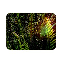 Green Leaves Psychedelic Paint Double Sided Flano Blanket (Mini)